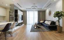 Chi 300 triệu đồng cải tạo trong vòng 45 ngày, căn hộ 126m² ở Hà Nội