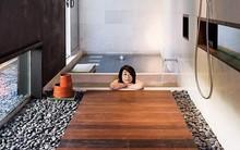 Thiết kế bồn tắm ngâm mình của người Nhật cho ngày đông lạnh giá