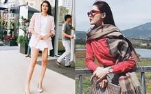 Phạm Hương khoe chân dài bất tận, Kỳ Duyên diện phụ kiện hàng hiệu chất lừ trong street style tuần này