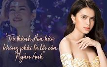 Á hậu Diệu Thùy nói về việc Hoa hậu Đại dương bị đề nghị trả vương miện: