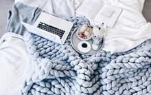 Những ý tưởng trang trí nhà bằng len cho không gian sống mùa đông vừa đẹp vừa ấm