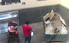 Phẫn nộ: Người đàn ông bỏ đứa con mới sinh được hai tiếng vào thùng rác