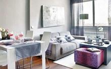 Bài trí hợp lý cho căn hộ 45 mét vuông