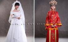 Ngắm Dương Mịch trong 2 bộ váy cưới cổ trang và hiện đại