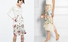 15 chiếc chân váy hoa đủ mức giá giúp bạn mặc đẹp tới sở làm