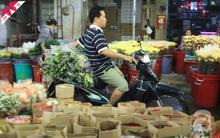 Chợ hoa lớn nhất Sài Gòn nhộn nhịp trước ngày 20.10