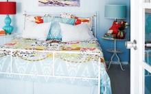 11 mẫu phòng ngủ dành riêng cho tín đồ màu xanh