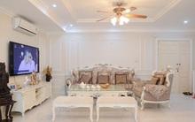 Ngắm căn hộ màu trắng 4 phòng ngủ sang trọng giữa lòng Hà Nội