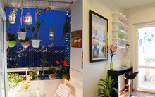 Ngắm căn hộ ở Hà Nội có bàn trà lãng mạn ngoài ban công