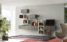 11 kệ treo tường sáng tạo cho không gian phòng khách