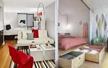 Những mẫu thiết kế chuẩn cho căn hộ không phòng ngủ
