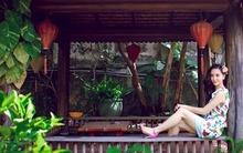 Nhà vườn thoáng mát bên bờ sông của gia đình Dương Trương Thiên Lý