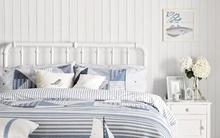 Dịu mắt với những cách trang trí phòng ngủ giữa mùa hè