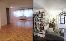 Hô biến căn hộ 60m² trống trơn thành tổ ấm xinh đẹp chào thiên thần nhí