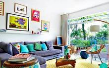 Học lỏm thủ thuật trang trí phòng khách đơn giản