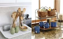 Mẹo đơn giản để sắp xếp các vật dụng nhà bếp gọn gàng