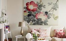 Cách bố trí tranh treo tường đầy nghệ thuật và cuốn hút