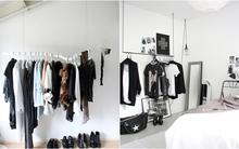 Lưu trữ quần áo với các thiết kế mở đẹp ngất ngây