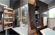 Cách lưu trữ đồ thông minh cho phòng tắm