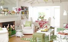 Ý tưởng hay giúp trang trí phòng khách thêm xinh
