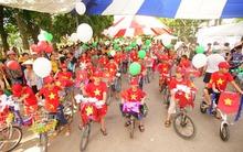 Quốc tế thiếu nhi: 500 trẻ em Thủ đô đạp xe vì biển đảo quê hương