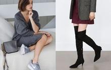 6 kiểu giày đang