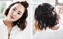3 kiểu tóc tết chưa đến 5 phút cho nàng tóc ngắn đi chơi Giáng sinh