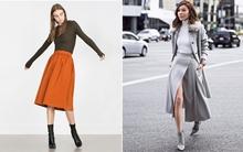 Boots và chân váy, kết hợp sao cho đúng điệu?
