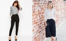 4 dáng quần âu đen giúp nàng công sở thay đổi phong cách mỗi ngày