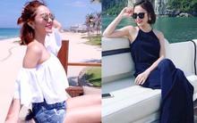Xem các người đẹp Việt gợi ý món đồ không thể thiếu trong mùa nghỉ mát