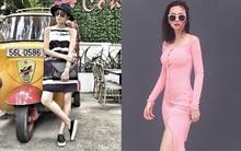 Lâu lắm rồi Angela Phương Trinh mới phô diễn vóc dáng trong thiết kế váy ôm sát