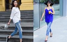 """Những thiết kế quần jeans từ bây giờ đến cuối năm vẫn cứ """"hot sình sịch"""""""