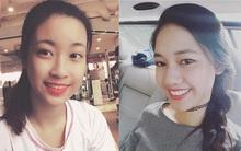 Ngắm nhan sắc khi được trang điểm nhẹ nhàng của 3 nàng Tân Hoa hậu và Á hậu