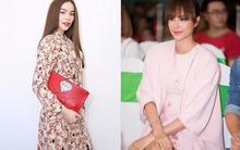 """Phạm Hương """"hiền khô"""" với váy hồng tóc búi, dẫn đầu danh sách sao mặc đẹp tháng 11"""