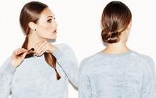Tạo kiểu tóc búi sang trọng chỉ mất 3 phút cho mùa tiệc tùng & lễ hội