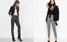 13 mẫu quần dài chất dày, dáng gọn gàng giúp bạn mặc đẹp đông này