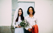"""""""Ngày Út theo anh Tư"""" - bộ ảnh hoài cổ gợi nhớ đám cưới xưa cũ bình yên và trong trẻo"""