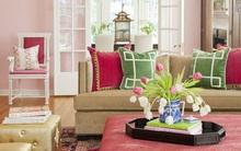 Trang trí nhà thêm xinh với màu hồng phấn nhẹ nhàng