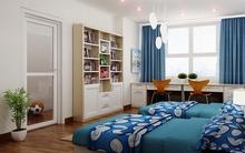 Tư vấn cải tạo 2 căn hộ liền kề thành 1 với diện tích 98m²