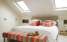 Mẹo giúp cho phòng ngủ trần thấp không bị bí bách