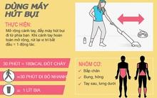 Những cách hay để đốt cháy 1000 calo giúp bạn giảm cân đều đều mỗi ngày