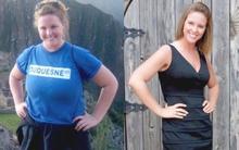 Chỉ nhờ phương pháp đơn giản, cô gái này đã giảm 24kg mà không cần ăn kiêng kham khổ