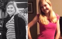 """Chia sẻ của cô gái đã giảm 45kg một cách ngoạn mục: """"Hoặc là thay đổi hoặc là sẽ bị tiểu đường"""""""