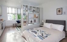 Phòng ngủ vừa đẹp vừa tiện với những cách ngăn phòng rất hợp lý