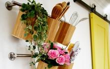 Bếp nhỏ vẫn đẹp lung linh nếu biết 11 cách sắp xếp tiện ích dưới đây
