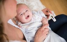 Nhìn triệu chứng, bắt bệnh nhanh khi bé bị sốt