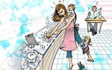 """""""Hội chứng"""" sợ ngày cuối tuần của một số bà mẹ có con nhỏ"""