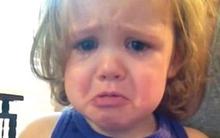 Bé 2 tuổi khóc nức nở khi nghe bài hát đám cưới của bố mẹ