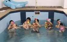 """""""Đột nhập"""" lớp học bơi cho trẻ sơ sinh ở Hà Nội"""