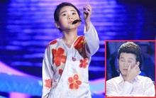 """Hoài Linh rớt nước mắt vì """"tiểu mỹ nhân"""" 9 tuổi"""